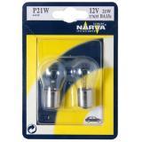 Лампа NARVA  больш. 1 конт. (блистер 2шт.) P21W (15s) 12V