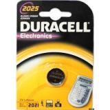 Батарейка Duracell 2025 (таблетка d20 высота 2,5) литиевая 3В