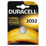 Батарейка Duracell 2032 (таблетка d20 высота 3,2) литиевая 3В