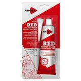 Герметик прокладок 85гр.Красный AIM-ONE