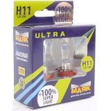 Лампа МАЯК H11 55 W PGJ19-2 12V Super Light +100%
