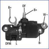 Интегральное реле генератора Opel Movano/Vivaro 2.5CTDi  HUCO