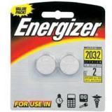 Батарейка Energizer 2032 (таблетка d20 высота 3,2) литиевая 3В (2 шт)