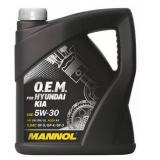 Масло MANNOL 5W30 мот п/с (4л) для Hyundai/Kia