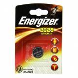 Батарейка Energizer 2025 (таблетка d20 высота 2,5) литиевая 3В (1 шт)