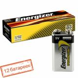 Батарейка Energizer 9V (6LR61/12BOX) (ширина 16,5 высота 47,5) INDUSTRIAL (12шт в к/б)
