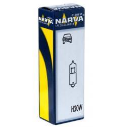 Лампа NARVA  малая с цоколем T20W (9s) HALOGEN 12V - 1