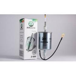 Фильтр топливный Z 006 (ВАЗ-2110) ZOLLEX инжект (штуцер) - 1