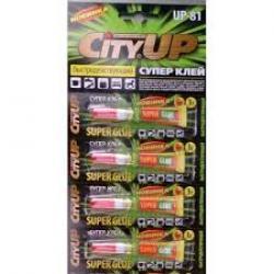 """Клей супер """"CityUp"""" быстродействующий 3г. (уп-12шт) - 1"""